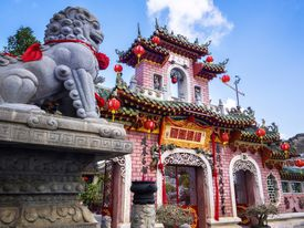 Fujian Assembly Hall in Hoi An Ancient Town, Vietnam