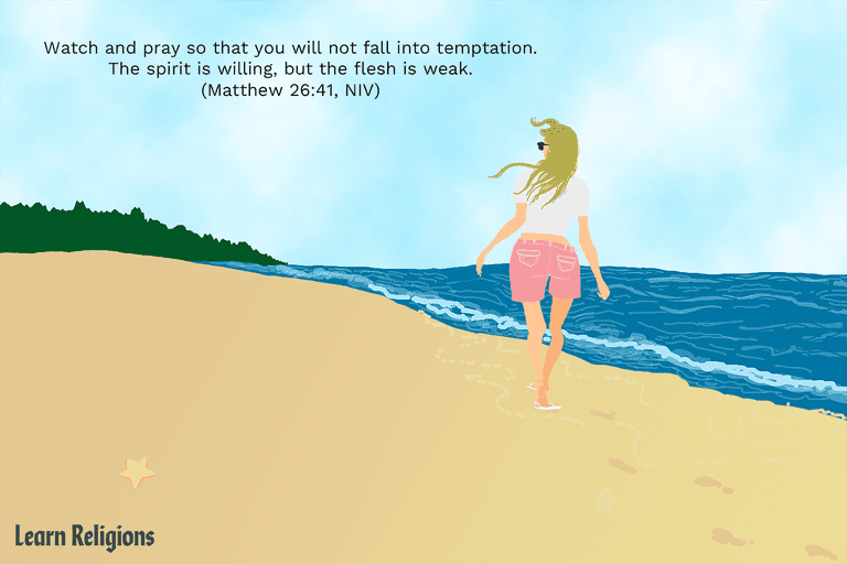 A Prayer for Temptation With Supporting Bible Verses