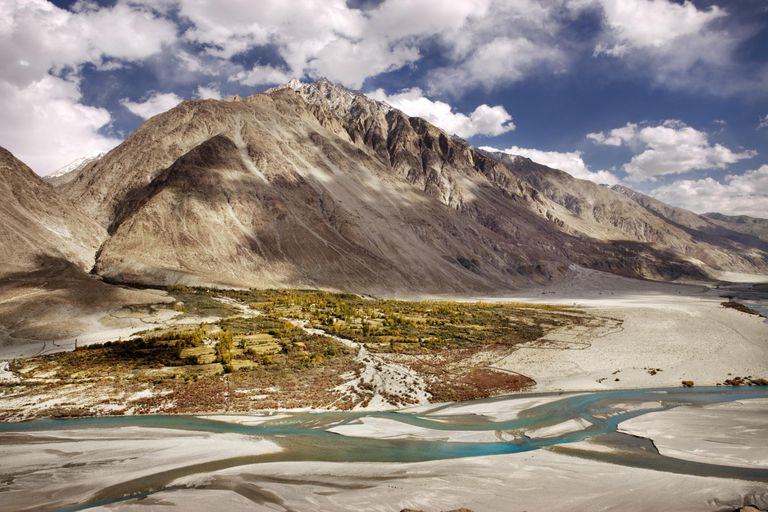 Indus river and valley