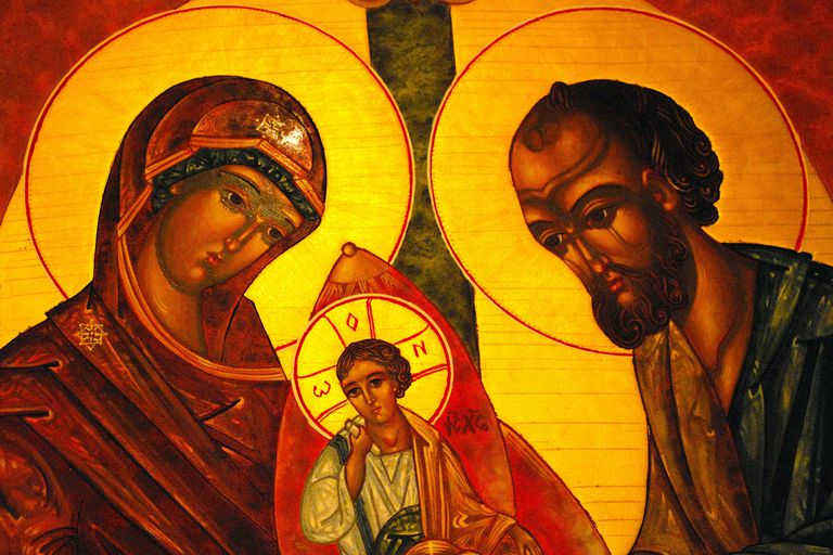 The Holy Family, St. Thomas More Catholic Church, Decatur, GA. (© flickr user andycoan; CC BY 2.0)