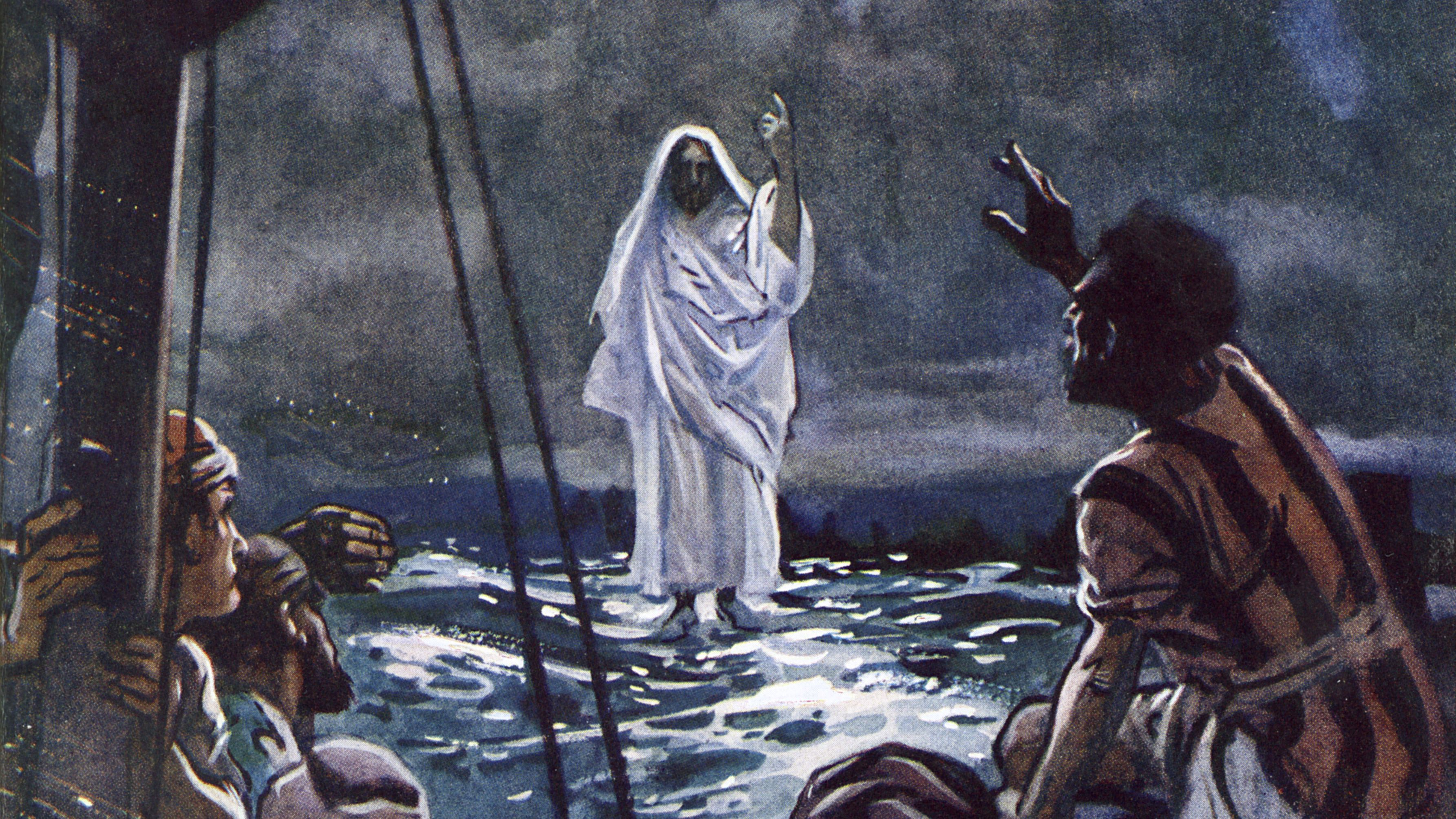Image result for They saw Jesus walking on the sea