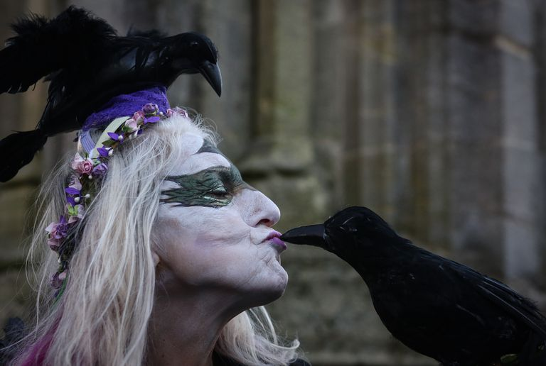 The Festival Of Samhain Is Celebrated In Glastonbury