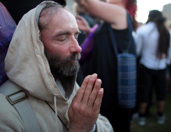 Druid Praying