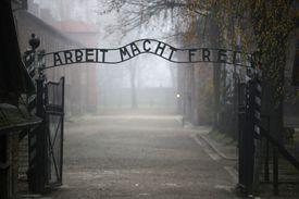 Gates of Auschwitz-Birkenau concentration camp