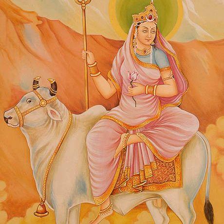 Shailaputri, the first Manifestation of Durga