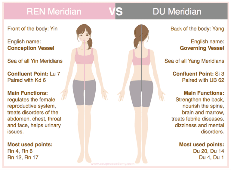 Du Meridian chart