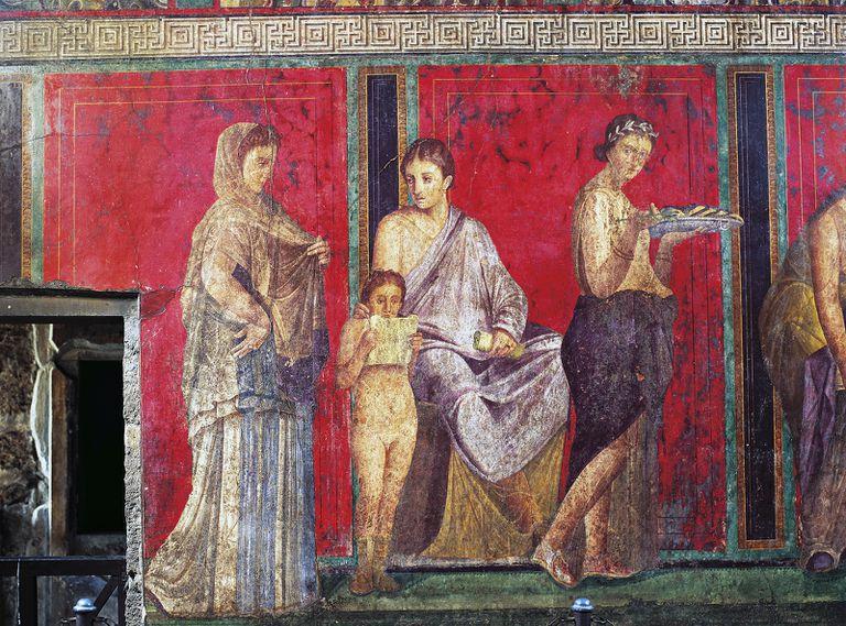 St. Valentine fresco