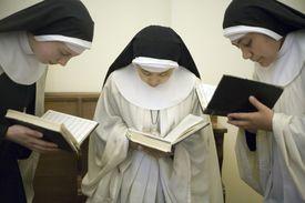 UK - London - Nuns at morning prayers