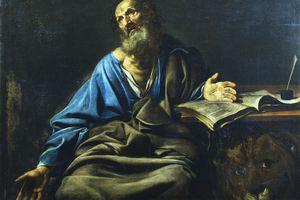 'St Mark the Evangelist', c1611-1632. Artist: Valentin de Boulogne