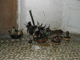 Santeria sacrifice