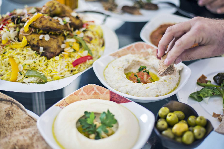 Table Full of Mezze