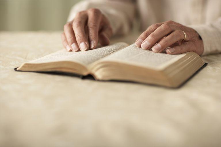 Open study bible