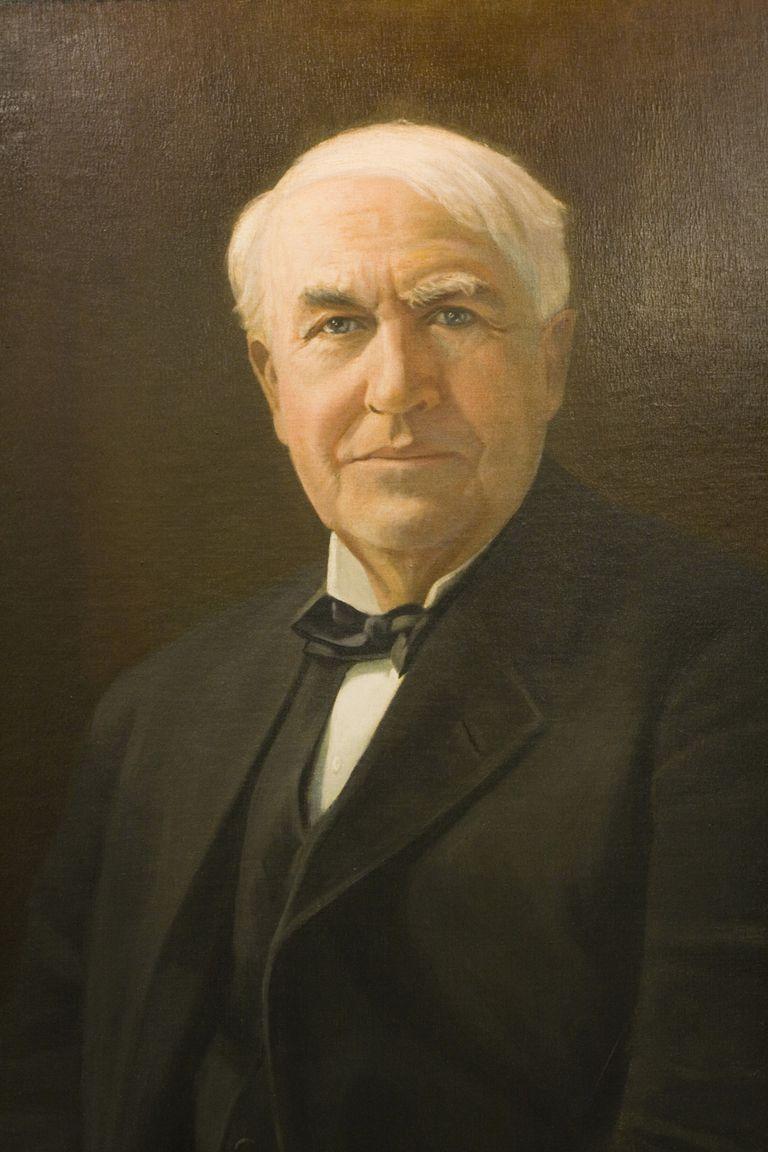 Thomas Alva Edison Portrait
