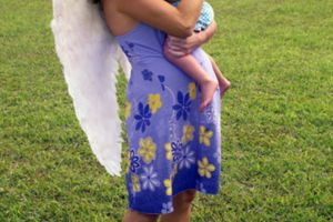 The love that moms give their children is so inspiring that people sometimes equate mothers with angels and their love with miracles.