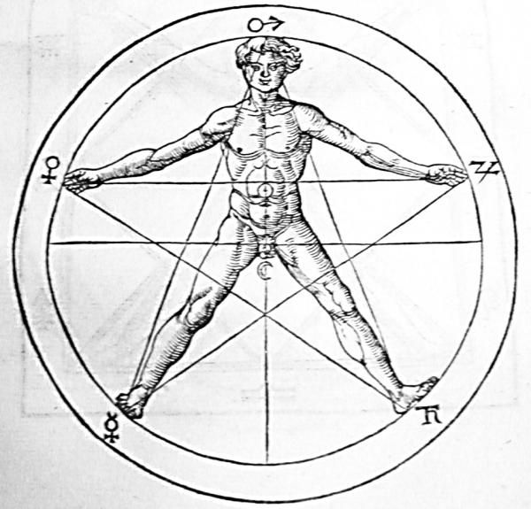 Agrippa's Pentagram