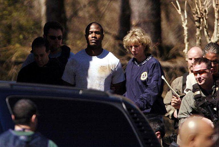 Brian Nichols arrest photo Captive