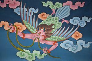Garuda Painting