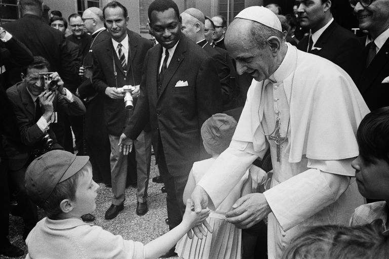 Visit of Pope Paul VI to Geneva