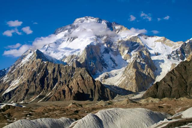 Broad Peak in Pakistan is the 12th highest mountain in the world