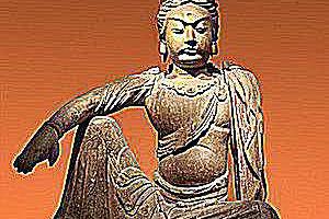 Guanyin - a Buddhist deity at Musée d'ethnographie, Dahlem, Berlin