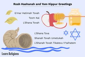 Rosh Hashanah and Yom Kippur greetings