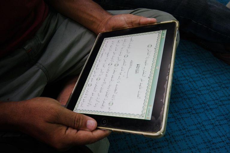 Quran on iPad