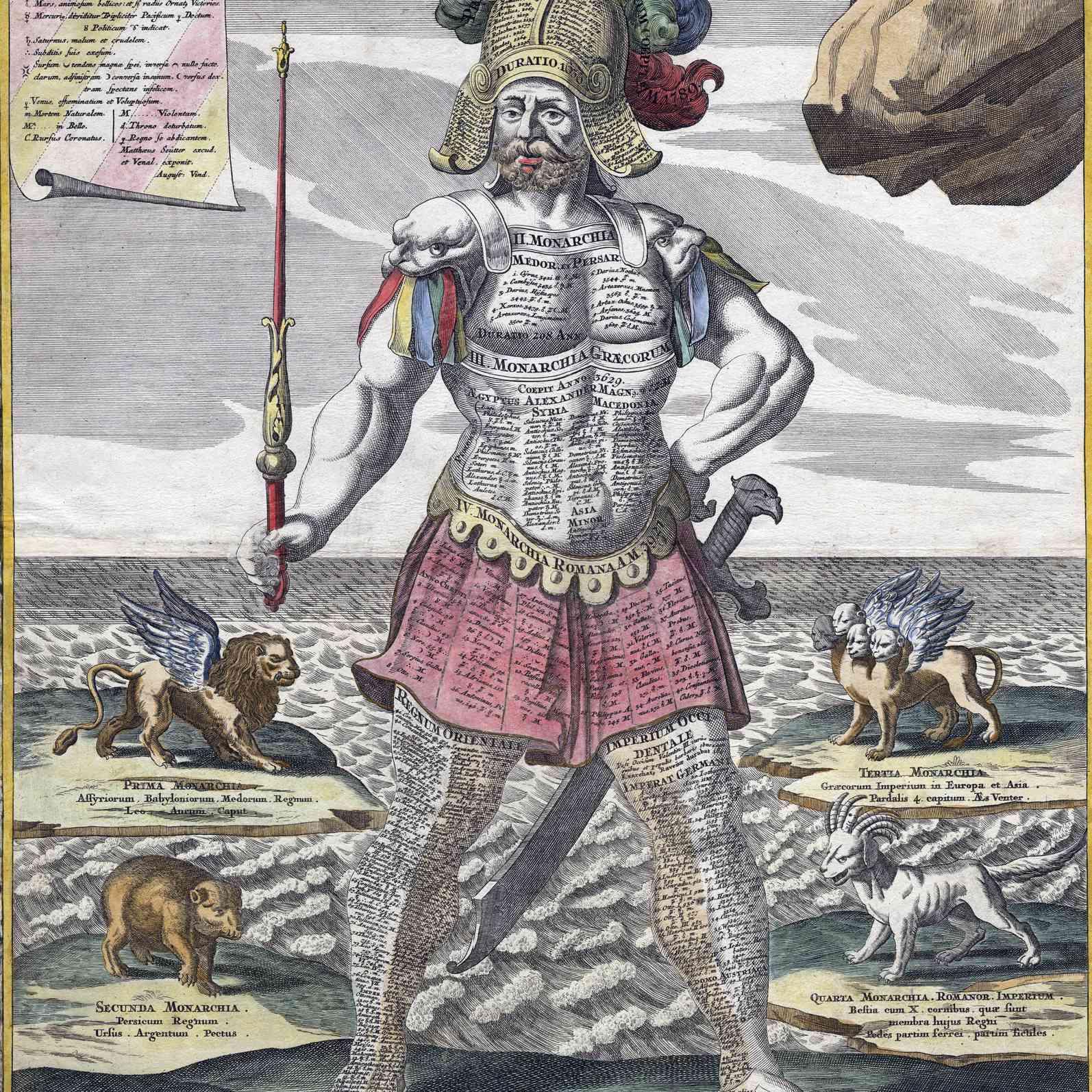Satue of King Nebuchadnezzar - Daniel's interpretation of Nebuchadnezzar's dream