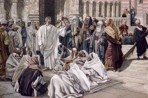 Jesus and religious leaders