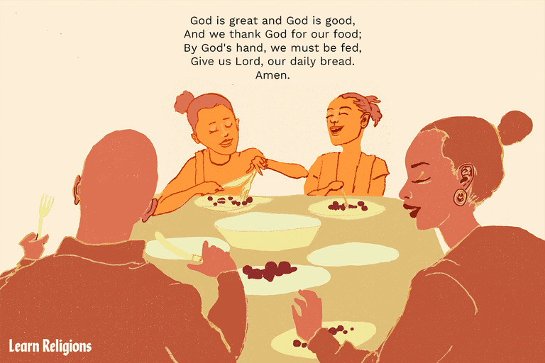 Children's Dinner Prayers and Mealtime Blessings