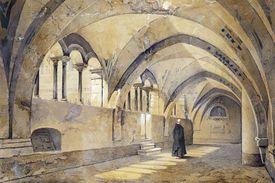 Benedictine Monk in Monastery