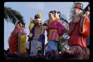 Sculpture of the Eight Immortals