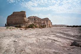 Dead Sea, Eroded rock