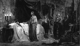 The resurrection of Jesus the daughter of Jairus.