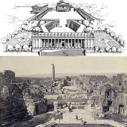 Baalbek Temple Complex: Overview of Temple Complex, Temples of Jupiter & Bacchus at Baalbek