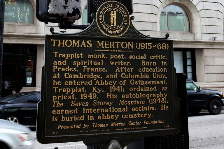 Thomas Merton historical marker