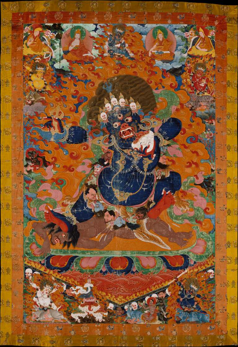 Yama as a Wrathful Dharmapala