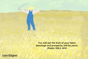 You will eat the fruit of your labor; blessings and prosperity will be yours. (Psalm 128:2, NIV)