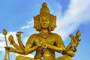 A Hindu Deity in Thailand