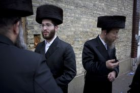 UK - London - Passover in the Hasidic Jewish community
