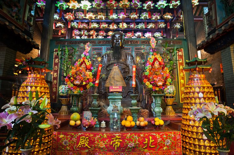What Are the Elements of a Taoist Altar?