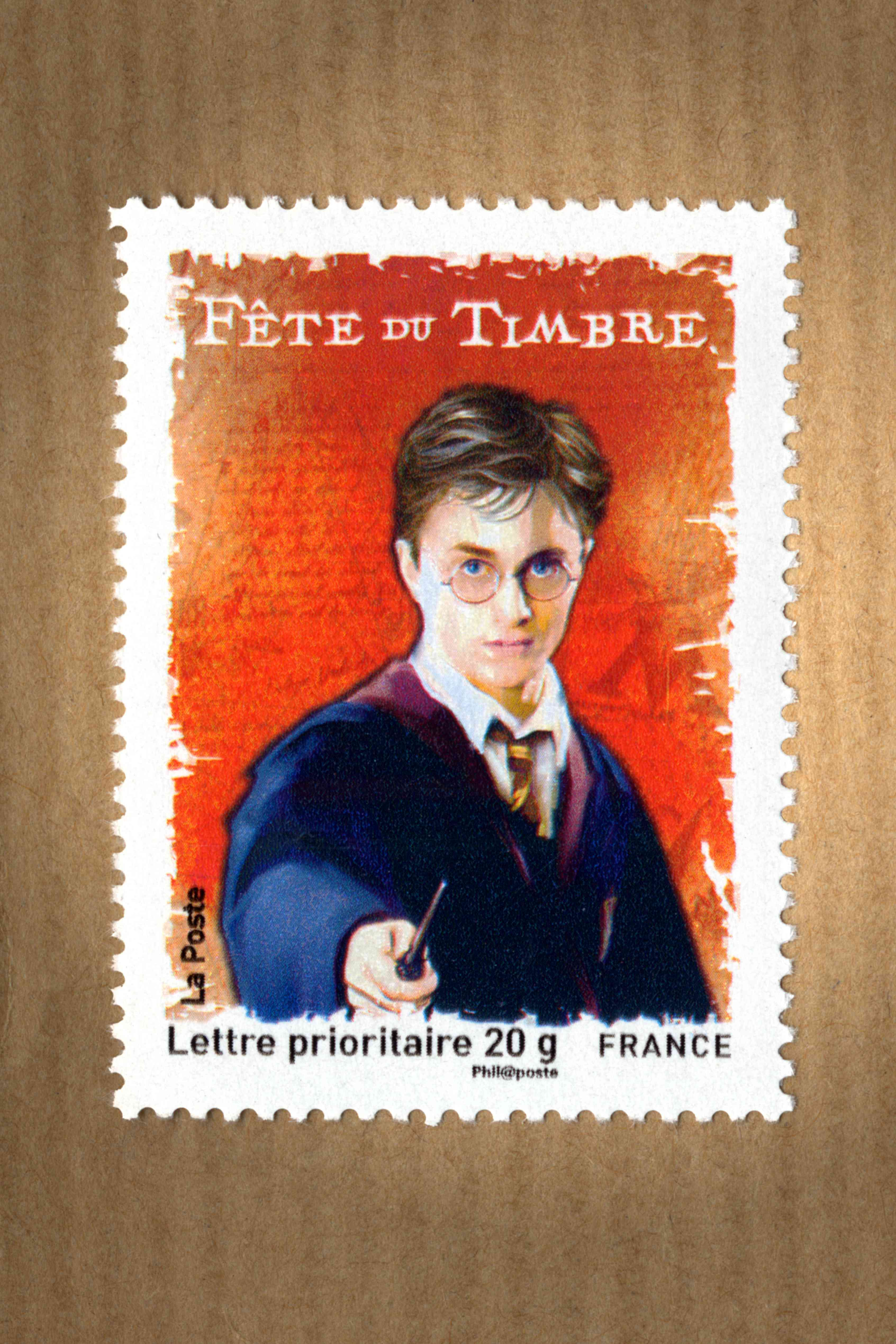 French Harry Potter Stamp