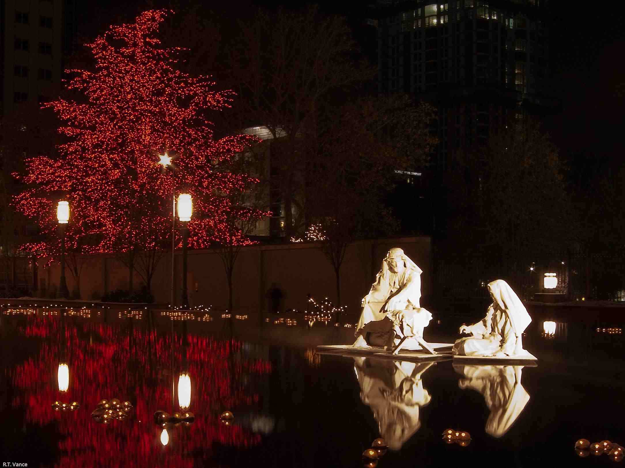 Christmas Nativity at Temple Square
