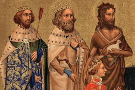 St. John the Baptist from the Wilton Diptych