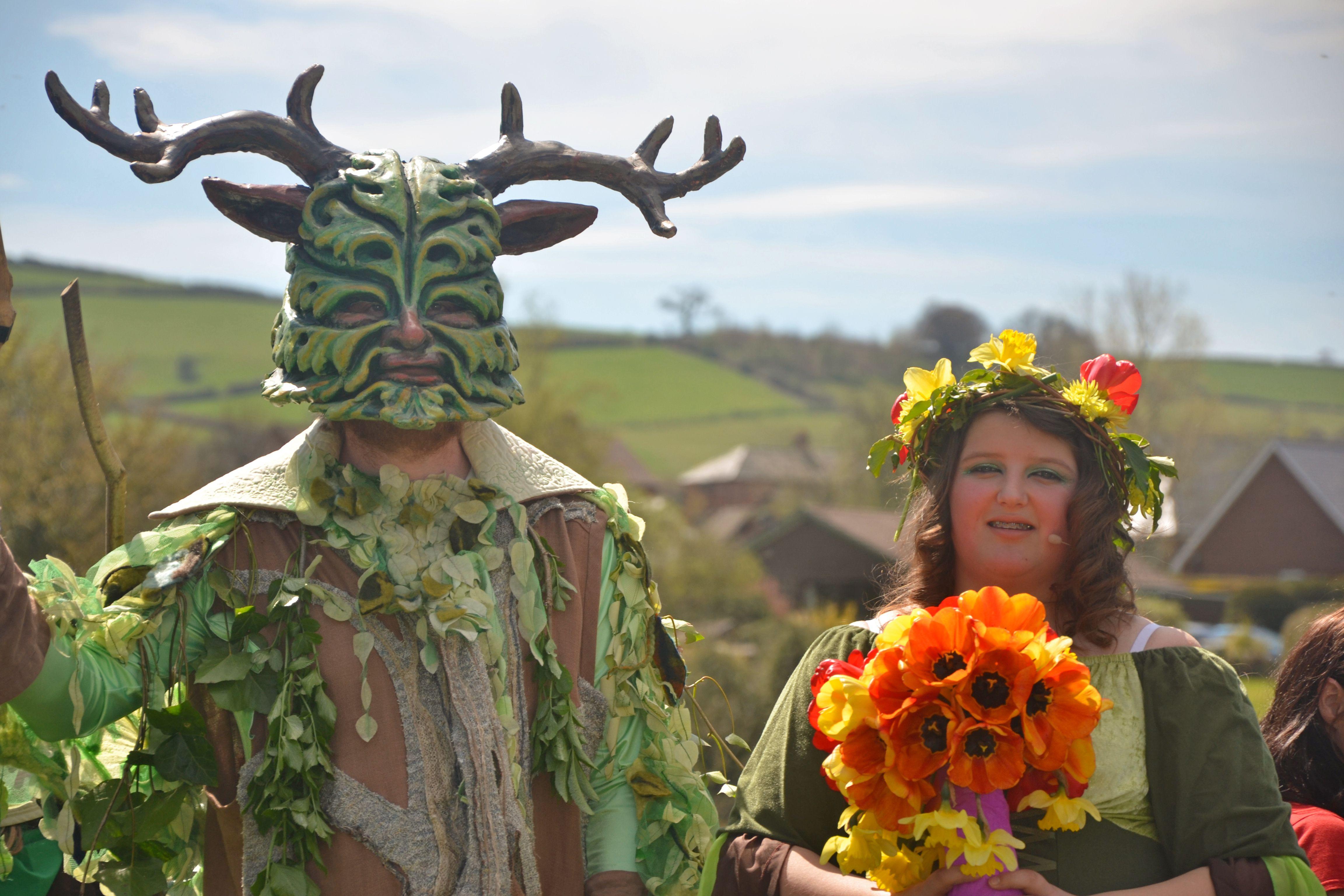 Green Man & May Queen