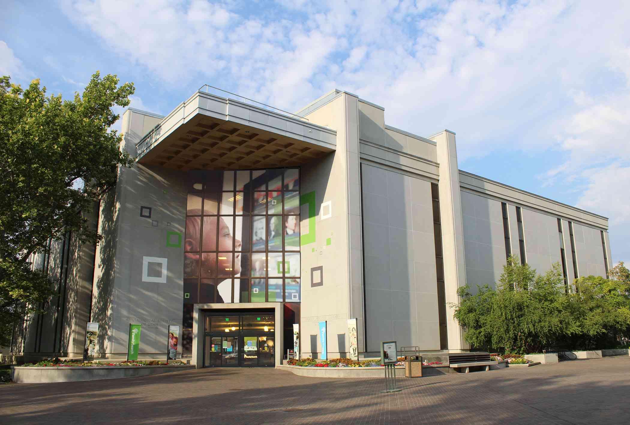 Family History Library Salt Lake City