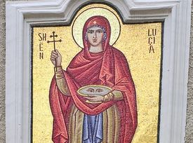 Mosaic of St. Lucy