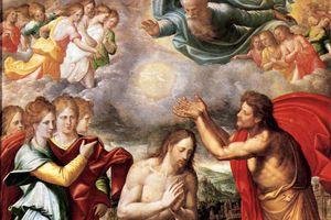 Bautismo de Cristo by Juan Fernández de Navarrete