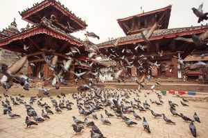 Durbar Square in Kathmandu, Nepal