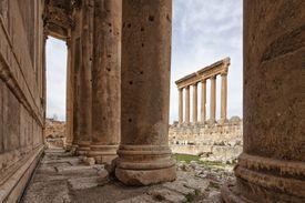 Jupiter and Bacchus Temple, Baalbek, Bekaa Valley, Lebanon