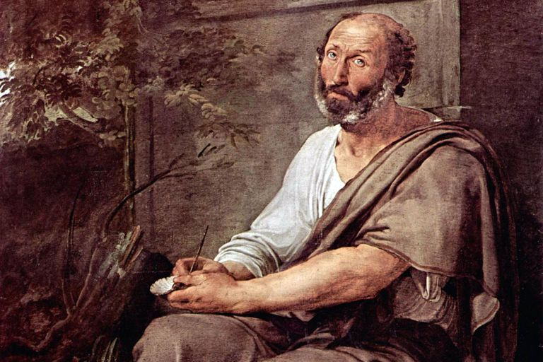 """Aristotle"" by Francesco Hayez (1791–1882)"